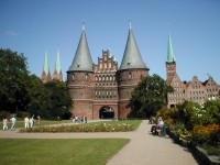 Lubeck, the capital of the Hanseatic League