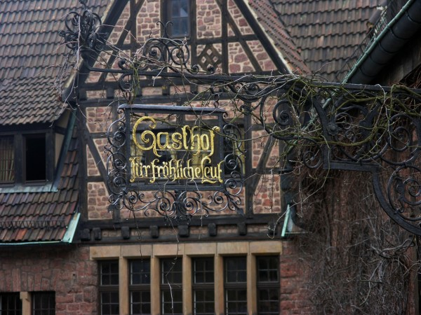 Gasthof sign WolfgangM/Flickr