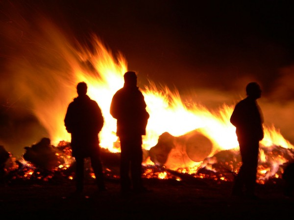Walpurgis Night bonfire Jonas B/Flickr