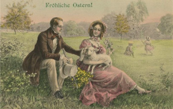 Old German Easter postcard paukrus/Flickr