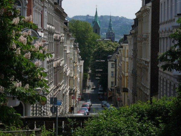 Typical street in Wuppertal Atamari/ookaboo