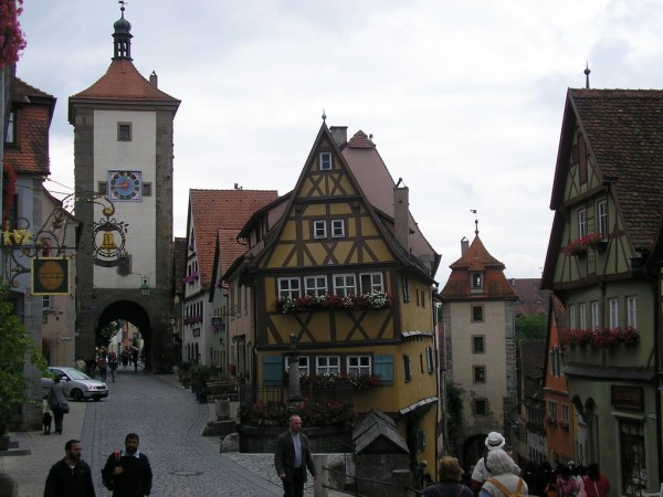 Rothenburg ob der Tauber Nigel's Europe/Flickr