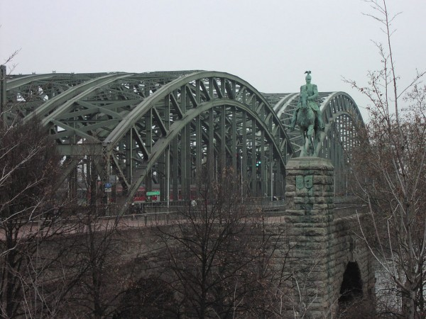The Hohenzollern Bridge tiseb/Flickr