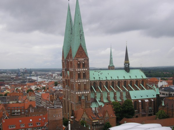 View over Lubeck Nigel's Europe/Flickr