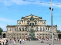 Semperoper Dresden dierk schaefer/Flickr