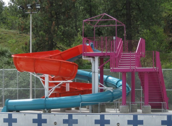 Waterslide for children gvgoebel/Flickr