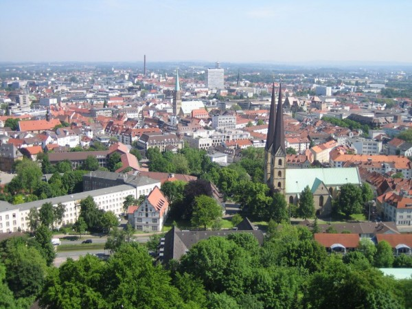 View over Bielefeld fabian-felix/Flickr