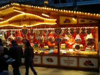 Berlin Christmas Market, candy stall tsteenbergen/Flickr