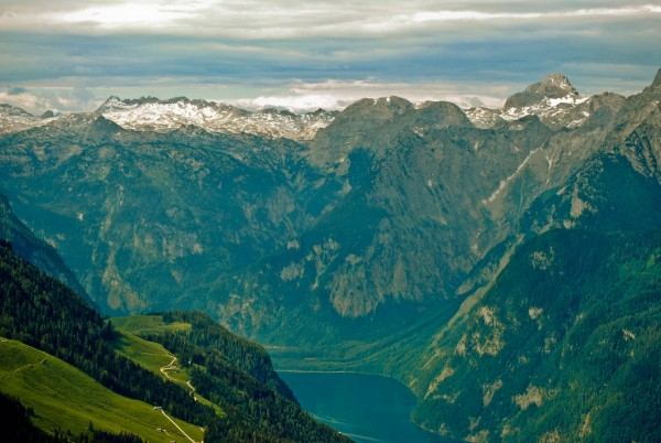 Portion of the Bavarian Alps spittingvenom/Flickr