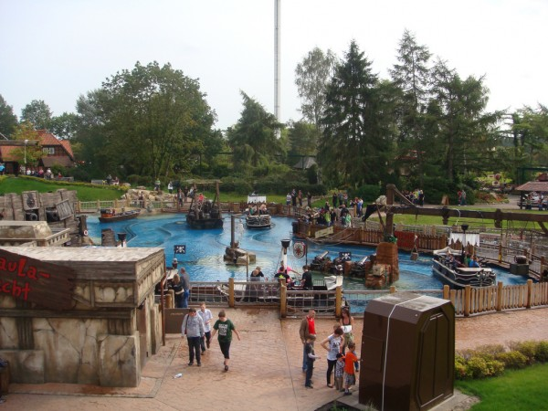 Water ride at the Heide Park milst1/Flickr