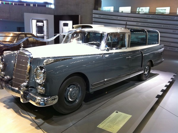 Exhibited vehicle in the Mercedes Benz Museum andynash/Flickr