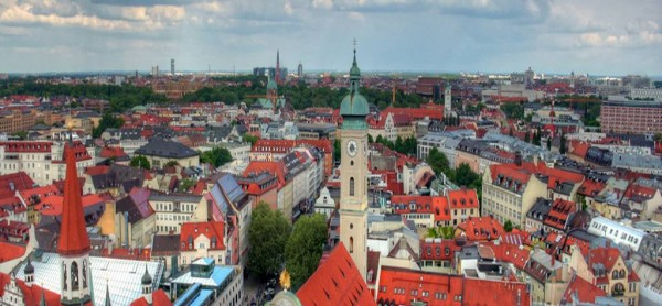 Munich cityscape John-Morgan/Flickr
